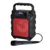 Cassa audio diffusore amplificato ricaricabile + microfono (hps 44r)
