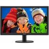 Monitor philips led 23,6' full hd vga dvi hdmi multimediale bk