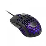 Mastermouse mm711 light mouse rgb black matt