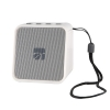Cassa mini speaker wireless portatile bluetooth cork bianco