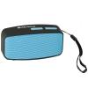 Cassa mini speaker wireless portatile bluetooth blu/nero