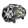 Cassa mini speaker wireless portatile bluetooth boom box camouflage nera