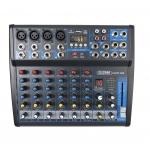 (outlet) mixer mxp 08 microfonico per dj