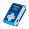 Lettore mp3 con tf card 8 gb e fm radio blu (27611b)