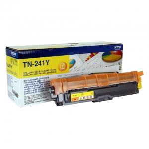 Brother TN-241Y Cartuccia 1400pagine Giallo cartuccia toner e laser