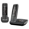 Telefono cordless gigaset c530 a duo nero