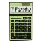 Calcolatrice 12 digits desktop dc2689 verde