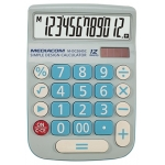 Calcolatrice 12 digits desktop dc2645c