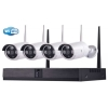 Kit tecno wifi nvr +4 telec. bullet ip 960p 3.6mm tc-1402ipw-kit