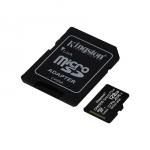 Micro sd 128gb 100mb/s kingston canvas sdcs2/128gb select+ ad.