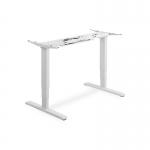Supporto tavolo alzo elettrico 63-125 cm bianco