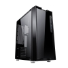Case atx itek byzon gaming glass no psu 2 frontali intercamb.
