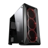 Case m-atx itek epsylon gaming 3 rgb fan con telec. glass black