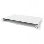 Box fibra ottica 1u installazione rapida senza pannello frontale viti incluse grigio ral7035 digitus