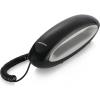 Telefono fisso con filo dolphin nero