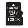 Micro sd 128gb con adatt. c10 uhs-i intenso premium