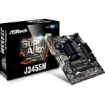 *out* main board asrock j3455m cpu j3455 qc on board