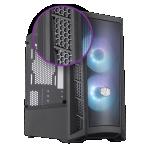 Case m-atx masterbox mb311 cooler master argb no psu black