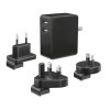 Caricabatterie da parete world charger fast charge (22194) da viaggio