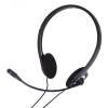 Cuffie con microfono karma pc-001 nere