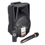 Cassa audio amplificata karma hps b8 300w con radiomicrofono