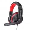 Cuffie gaming karma gt91 con microfono black/red