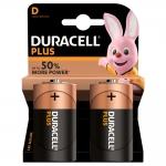 Batterie duracell plus alcaline torcia d lr20 conf. 2pz
