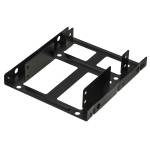 Frame metallico per 2 hd/ssd 2,5 su slot 3,5 lklu02