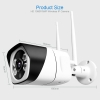 Telecamera ip tecno tc-3015 3.6m wifi ir color fullhd