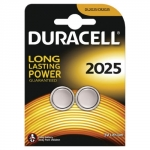 Batterie duracell al litio dl/cr2025 3v a bottone conf. 2pz