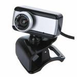 Webcam encore vga 480p 30fps con microfono cavo 1,5mt