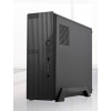 Case slim micro-atx/itx tc-s3 tecno 500w usb3 c.read 1fan 8cm bk