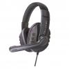 Cuffie gaming karma q7bl con microfono black/blue