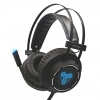 Cuffie gaming techmade tm-m06l con microfono black
