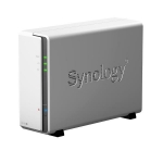 Nas synology ds120j 1 slot cpu dc 800mhz 512mb ram