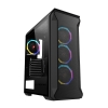 Case atx itek froome gaming argb 4fan con telec. glass(l) no psu