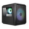 Case m-atx itek qbo 8 evo argb fan 200+120mm no psu 3 lat. trasp