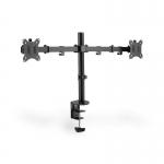 """Fissaggio a incastro per monitor doppio 17-32"""", 2 x 8 kg (max), nero"""