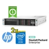(refurbished) server hp enterprise proliant dl380 g8 (2) xeon e5-2630 15mb cache 64gb ram 2.4tb (2) psu smart array p420i