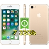 "(refurbished) apple iphone 7 32gb gold a10 mn912ql/a 4.7"" oro originale"