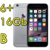 "(refurbished) iphone 6 plus 16gb grigio siderale a8 wifi bluetooth 4g apple mga82zd/a 5.5"" spacegray [grade b]"