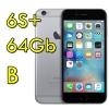 "(refurbished) iphone 6s plus 64gb spacegray a9 fku62ll/a grigio siderale 4g wifi bluetooth 5.5"" originale [grade b]"