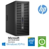 (refurbished) pc hp prodesk 600 g2 mt intel g4400 3.3ghz 8gb 500gb dvd-rw windows 10 professional tower