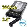 "(refurbished) hard disk per server dell 9we066-150 300gb sas 10k 2.5"" hot swap per r610 r710 r910 altri"