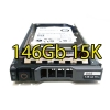 "(refurbished) hard disk per server dell poweredge sas 2.5"" 146gb 15k hot swap per r610 r710 r910 altri"