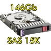 "(refurbished) hard disk per server hp sas 2.5"" 146gb 15k hot swap per proliant dl ml bl g5 g6 g7"