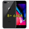 "(refurbished) apple iphone 8 plus 64gb space gray a11 mq8n2ql/a 5.5"" grigio siderale originale ios 12"