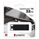 Pen drive 32gb usb 3.2 type c kingston dt70/32gb datatraveler 70