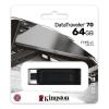 Pen drive 64gb usb 3.2 type c kingston dt70/64gb datatraveler 70