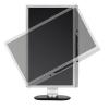 (refurbished) monitor pc led philips brilliance 221p3lpyes-00 22 pollici wide vga dvi black-silver